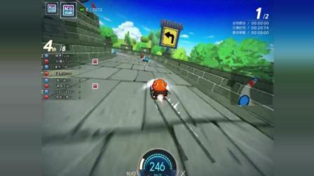 跑跑卡丁车: 一个女司机可以玩成这样, 我不得不服