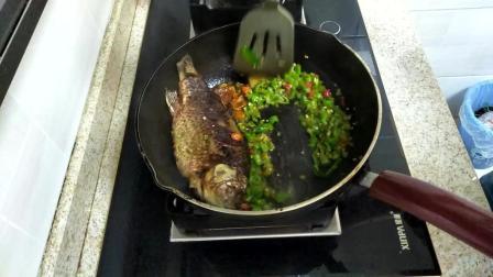 家常菜红烧鲫鱼美味私房菜 迷迭香美食 红烧鲫鱼