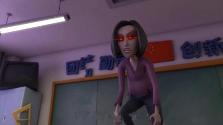 搞笑校园动画《茶啊二中》系列:刚吃完就饿,不愧是吃货中战斗机