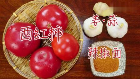 大厨教你番茄辣椒酱的做法, 简单好学, 超级好吃