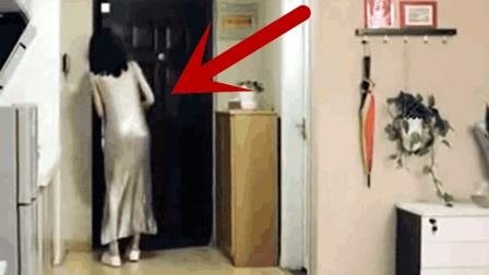男子假意骗开美女邻居的房门, 要不是监控, 都不知女她经历了什么!
