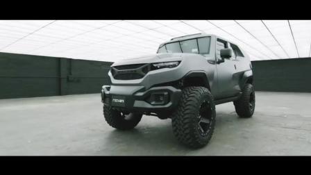 汽车: 国外科技公司发明强大Rezvani坦克汽车, 性能超越悍马