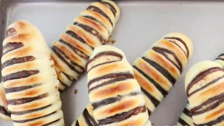 没有面包机也能做面包, 告诉你技巧, 松软香甜, 比卖的还好吃!