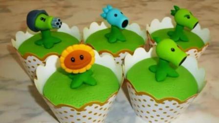 当《植物大战僵尸》被做成了蛋糕, 你想先吃豌豆射手还是向日葵?