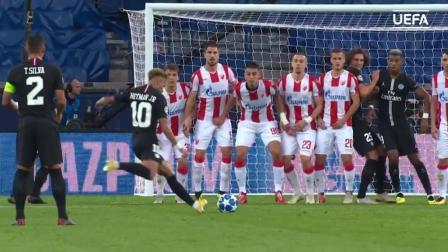 欧洲冠军杯: 巴黎圣日耳曼vs贝尔格莱德红星, 全