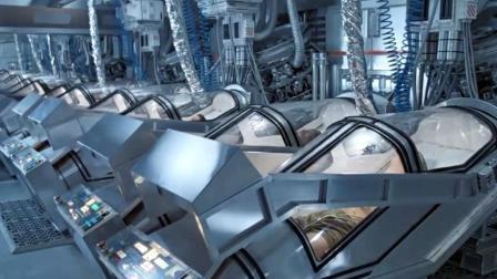 科幻惊悚大作, 人类在太空沉睡57年后, 身边到处充斥着变异怪物