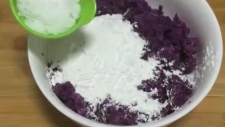 一个紫薯, 一碗糯米粉, 教你做美味小零食, 做法简单, 宝宝很爱吃!