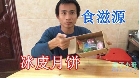 聋子小哥: 中国送货-食滋源冰皮月饼, 常温冰皮月水果味月饼, 月饼四味散装!