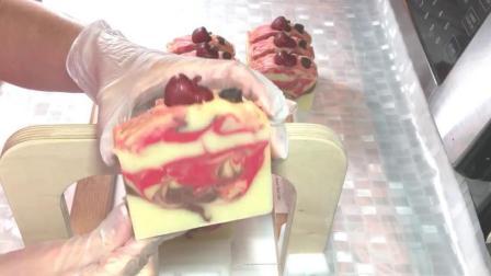 肉桂苹果橘子手工皂制作过程实拍