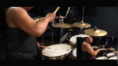 """迈克尔杰克逊""""御用鼓手"""", 4分钟敲击300次, 全球顶端存在的大师"""