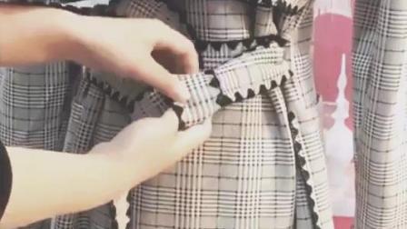 超好看的钻石扣系法, 风衣腰带这样系真漂亮, 显得很有气质!