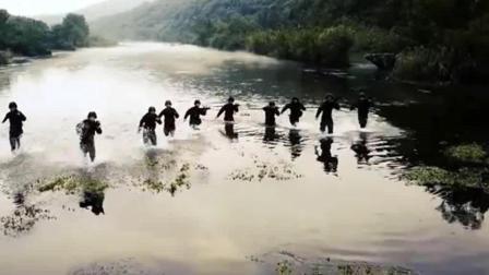 现实版特战队员水陆两栖协同作战, 天天都经历着
