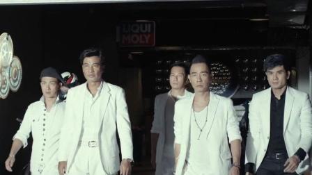 五分钟看完香港影片《黑白迷宫》, 重温古惑仔岁月, 所有的情怀都在片尾曲中