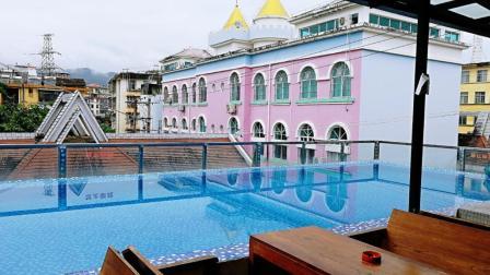 体验西双版纳最贵的青年旅舍, 阳台带露天泳池, 价格你想不到
