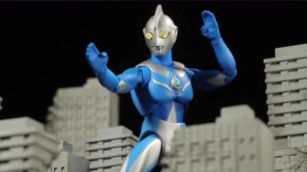 《高斯奥特曼》ACT玩具展示! 自制炫酷震撼动画