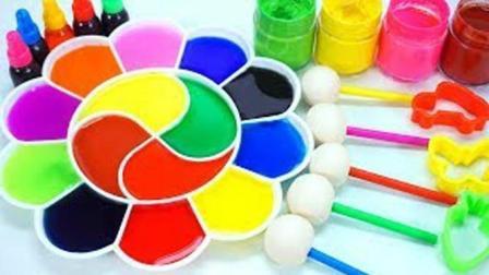 我爱涂鸦别错过萌宝绘画萌芽期, 早教启蒙萌宝一起给小印章着色啦