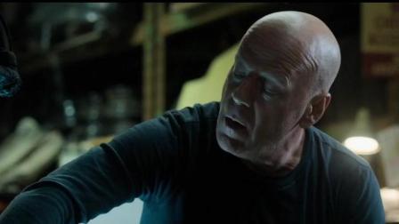 姜还是老的辣, 布鲁斯威利斯以暴制暴, 以牙还牙修车工