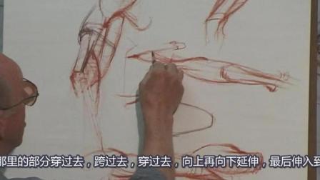 Glenn Vilppu 经典[上臂解剖素描]Upper.Arm精细示范, 中文字幕版!