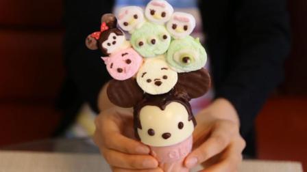 高颜值的迪士尼米奇冰淇淋教程来啦! 做法简单, 关键是太美味了