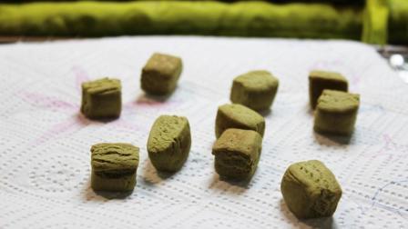 减糖低脂抹茶小饼干豆的做法 不用打发简单易做