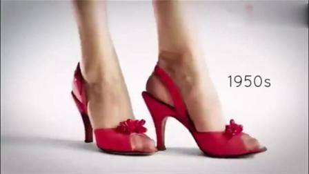 小编带你回顾高跟鞋百年历史, 哪个时期的高跟鞋才是你的菜?