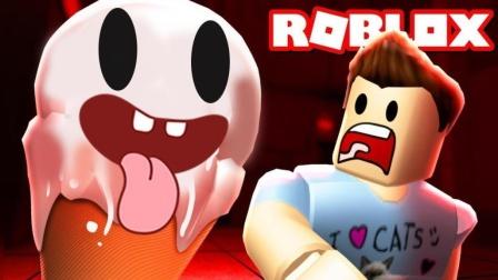 Roblox乐高小游戏小格解说 第一季 冰淇淋模拟器:制作美味冰淇淋!居然堆了100层高?