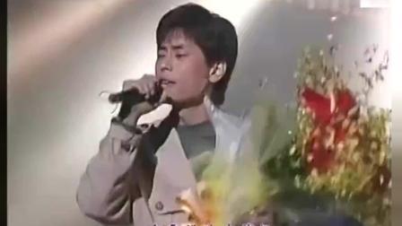 1989年《劲歌金曲》颁奖典礼上王杰唱的这首歌, 现在很难找到这个版本了