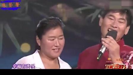 朱之文携手妻子恩爱献唱, 不愧是天作之合, 画面太甜蜜了