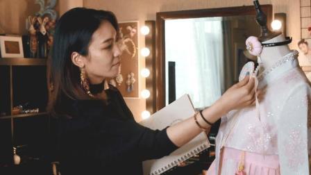 延禧攻略色调这么美 高级色彩搭让你的丝带绣变得不一般