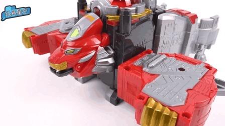 超凡战队变形机器人酷炫来袭 宝宝益智玩具
