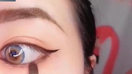 漂亮有型的欧美混血眼妆, 时尚洋气, 真的好美