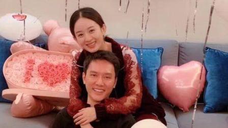 冯绍峰为赵丽颖准备生日会, 气球玫瑰包围, 和冯绍峰幸福相拥