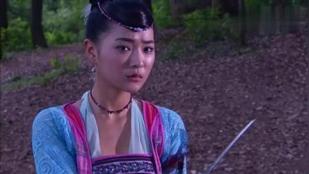 江湖刀客不领情竟敢出手袭击女子, 女子神秘武器出神入化打败了他