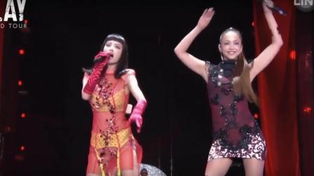 蔡依林唱到一半, 日本歌姬安室奈美惠突然出现! 两大天后跨国同台!