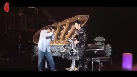 可怜的陈奕迅, 花钱去看周杰伦演唱会还被抓上台唱歌, 真是亏大了