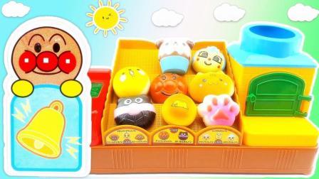 潇潇和玩具 最新面包超人面包店厨房过家家玩具