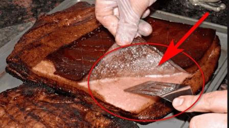 培根到底是什么原材料做的, 是不是流传的碎肉压缩, 看完还吃吗