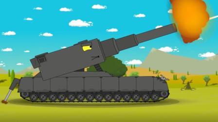 坦克世界动画: 这岂不是无敌啦! 重生药水了解一下?