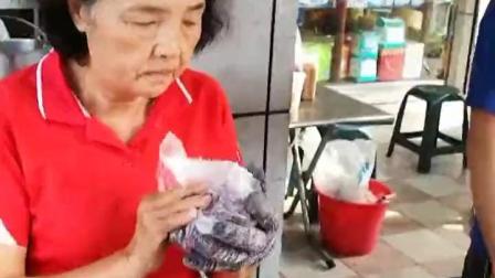 #美食##台湾古早味#紫米饭团 白米饭团 一样好吃