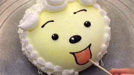懒羊羊蛋糕好可爱#美食##路易卡通蛋糕##蛋糕创意比赛#