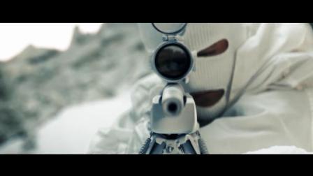 雪山狙击战, 男主一把M24干掉三个狙击手, 这枪法杠杠的