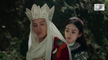 唐僧冯绍峰放下戒律清规, 为迎娶女儿国国王赵丽颖而唱的《女儿情》, 为将来埋下爱的种子