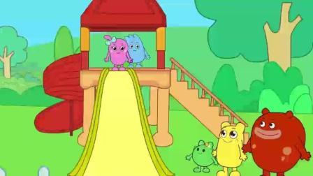 咕力儿歌: 小朋友转个圆圈滑滑梯真好玩