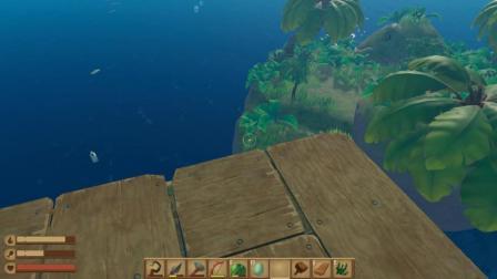 木筏求生 Raft 第140期 恋墨洗劫过的小岛就是这个样子
