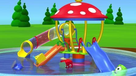 汽车总动员玩具视频  认识颜色  儿童亲子小视频12