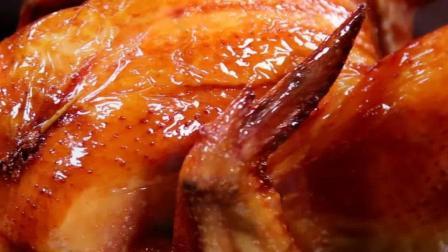 香喷喷的蒜香鸡这样做皮脆肉嫩, 蒜香十足, 附装盘教程!