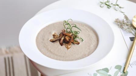 奶油菌菇汤~终于懂了西式浓汤的套路