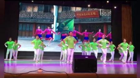 长江大学2018年重阳节庆祝大会暨老年大学教学成果文艺节目汇演----梦飞翔(健身操班)