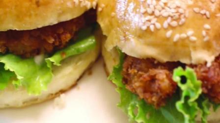 看了这个香辣鸡肉汉堡做法, 再也不用买了, 好吃省钱还健康!