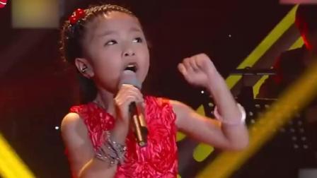 中国新声代小姑娘演唱《我的祖国》气势逼人, 获国人点赞无数